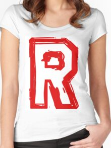 Rocket Team Women's Fitted Scoop T-Shirt