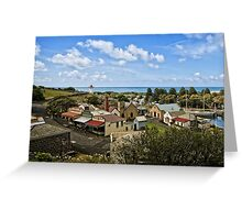 Flagstaff Hill overview Greeting Card