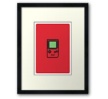 GAMEBOY POCKET Framed Print