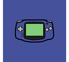 GAMEBOY ADVANCE  by purplepixel
