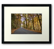 Autumn, Geres, Portugal Framed Print