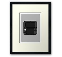 3DS XL Framed Print