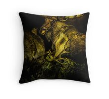 Night Fight Throw Pillow