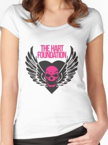 The Hart Foundation Women's Fitted Scoop T-Shirt