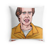 Phone's Ringin' Dude (Color) Throw Pillow