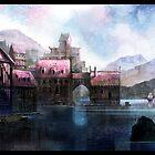 Norse Village by Henry Castelein