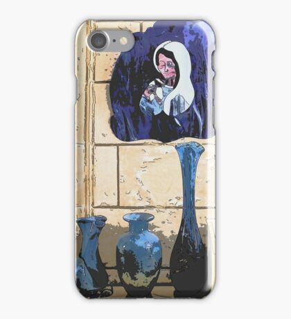 Madonna and Bottles iPhone Case/Skin