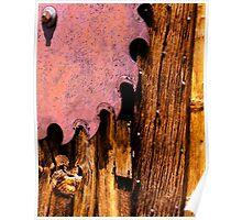 """rust never sleeps"" Poster"