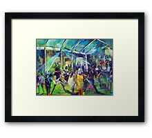 Agnes Water Blues and Roots 2014 Framed Print