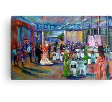 John and Bronny Wedding Heirloom Artscape Canvas Print