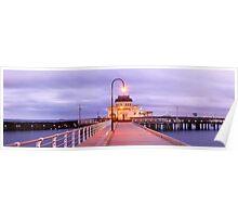 St. Kilda Pier, Melbourne, Victoria, Australia Poster