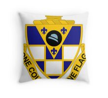 178th Infantry Regiment - One Country - One Flag Throw Pillow