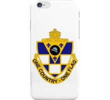 178th Infantry Regiment - One Country - One Flag iPhone Case/Skin