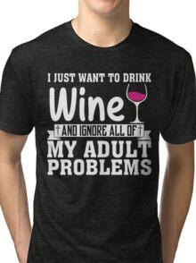 WINE Tri-blend T-Shirt