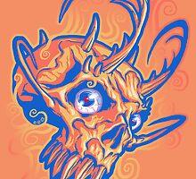 Rupert's Skull by cs3ink