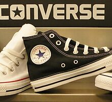 High top Converse by Christina Stanley