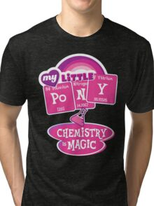 My Little Pony - Chemistry Is Magic Tri-blend T-Shirt