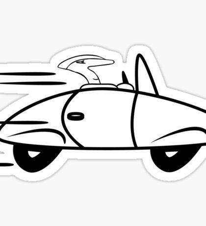 Car sports cars fast cars Sticker