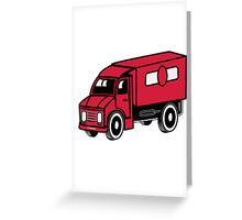 Car toys truck truck truck vehicle Greeting Card