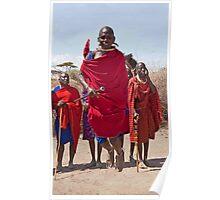 Masai Jumping Dance Poster