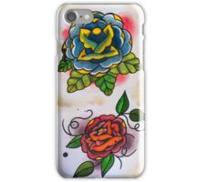 3 Roses - Tattoo Flash iPhone Case/Skin