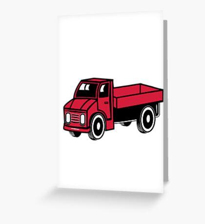 Car toys truck truck truck truck vehicle Greeting Card