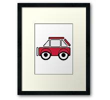 Car toys baby car funny car Framed Print