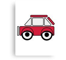 Car toys baby car funny car Canvas Print