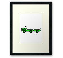 Car toys baby truck tipper trailer Framed Print