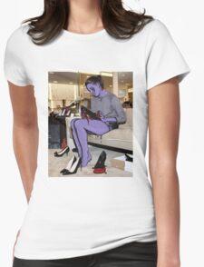 Aubrey Plaza Womens Fitted T-Shirt