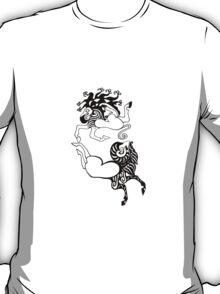 Scythian yin yang T-Shirt