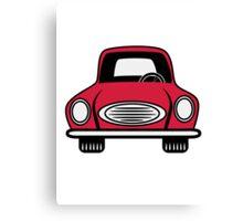 Car grill car vehicle Canvas Print