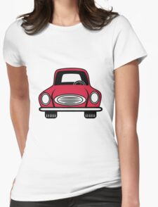 Car grill car vehicle Womens Fitted T-Shirt