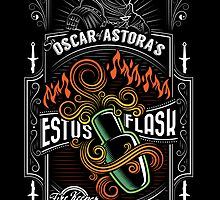 Sir Oscar of Astora's Estus Flask Poster by Josh Legendre