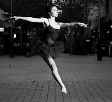 Street Ballerina 2 by Nigel Donald