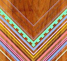 Aztec Arbutus by Jenny Mhairi