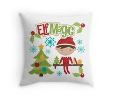 Elf Magic Throw Pillow