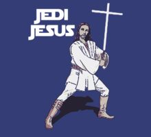 Jedi Jesus by SpaceDonutInc
