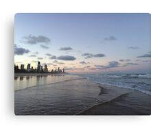 Gold Coast Beach  Canvas Print