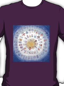 "Puzzle painting ""Round dance"" T-Shirt"