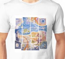 "Puzzle painting ""Lost"" Unisex T-Shirt"