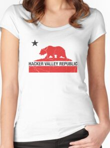 Hacker Valley Republic Women's Fitted Scoop T-Shirt