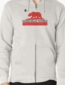 Hacker Valley Republic Zipped Hoodie