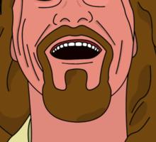 The Dude Cartoon Sticker