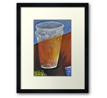Beer and Coffee  Framed Print