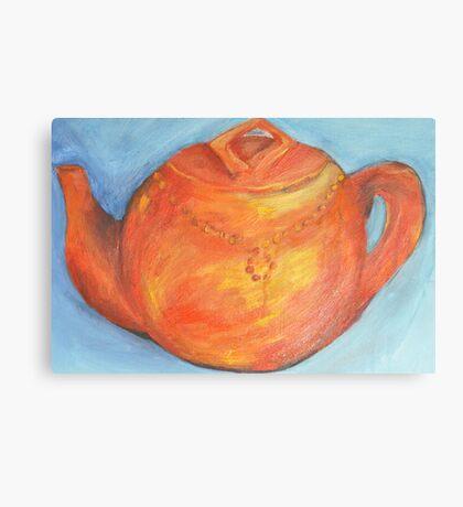 Teapot I Canvas Print