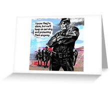 The Good Guys Greeting Card