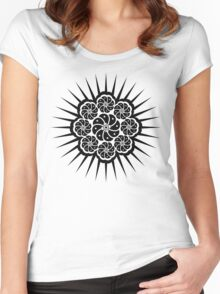 Peyote Cactus, psychedelic, psychoactive plant Women's Fitted Scoop T-Shirt