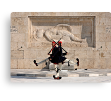 The Greek Tango Canvas Print