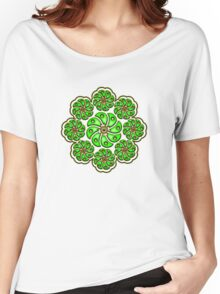 Peyote Cactus, psychedelic, Plant of the gods Women's Relaxed Fit T-Shirt